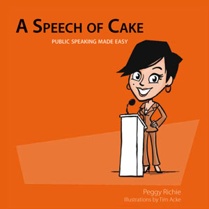 A speech of cake